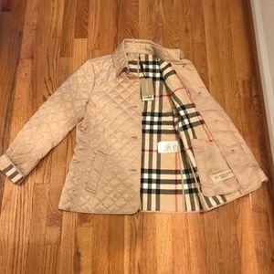 Burberry Britt Quilted Jacket size Medium